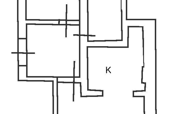 Bilocale luminoso floorplan 1